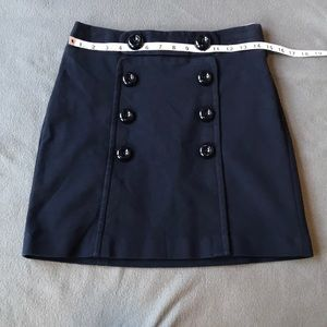Milly of New York sailor style mini skirt